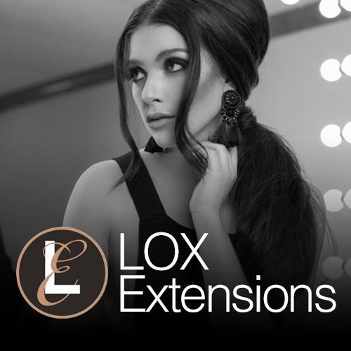 lox hair extensions adored salon