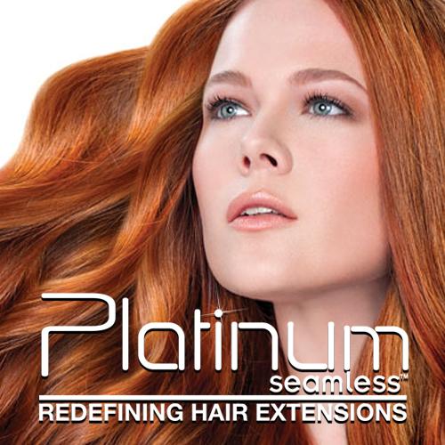 platinum hair extensions adored salon
